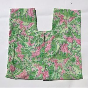 Lilly Pulitzer Vintage Cropped Pant Monkey Print 2
